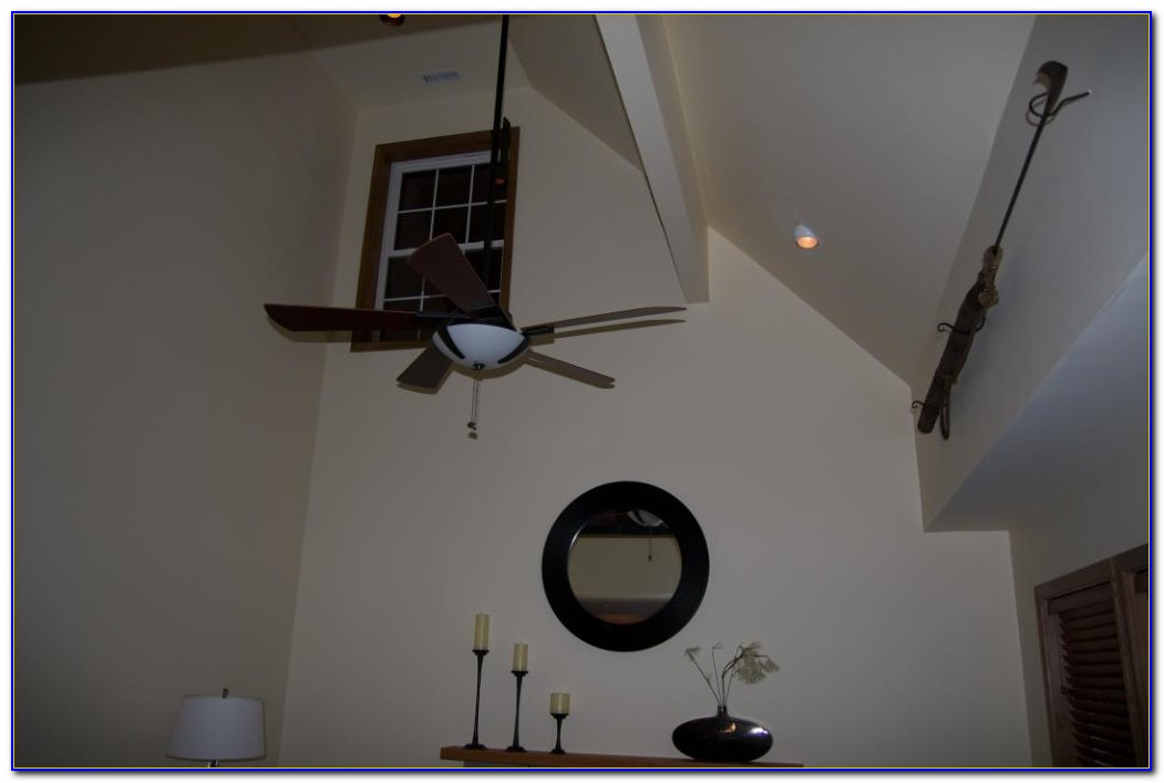Ceiling Fan Canopy For Sloped Ceiling