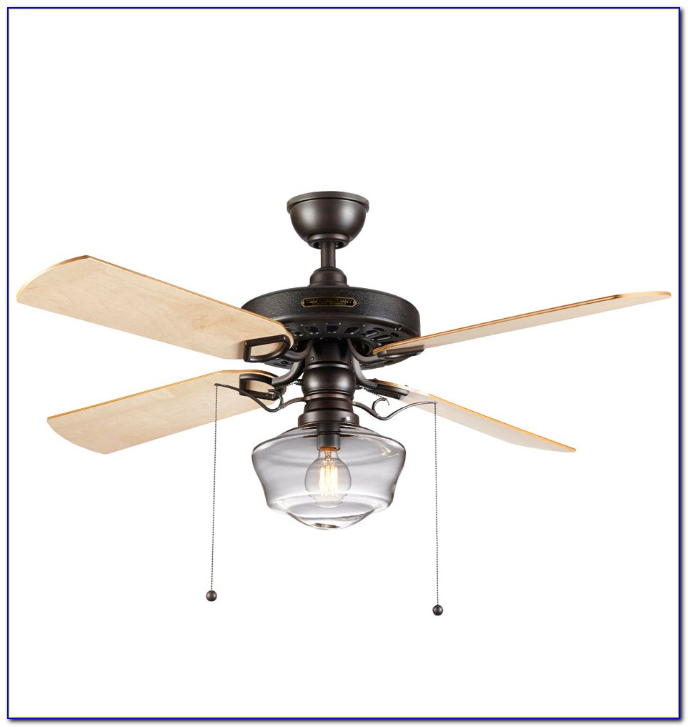Ceiling Fan Clear Acrylic Blades