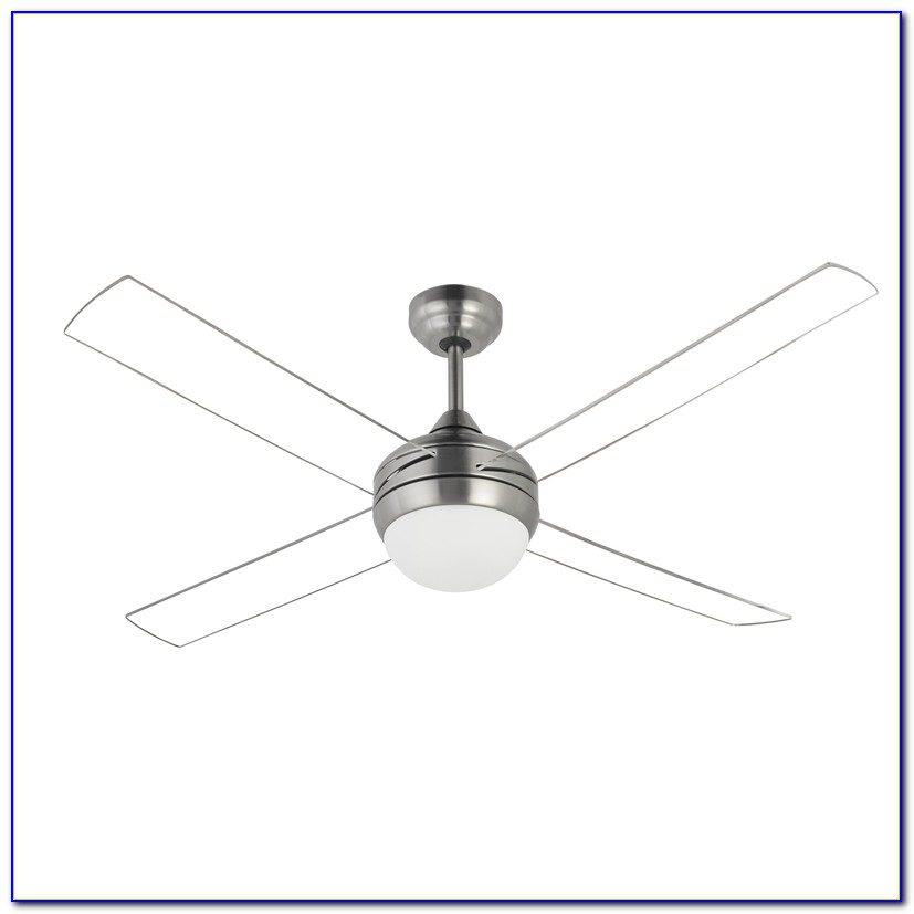 Ceiling Fan Clear Blades Light