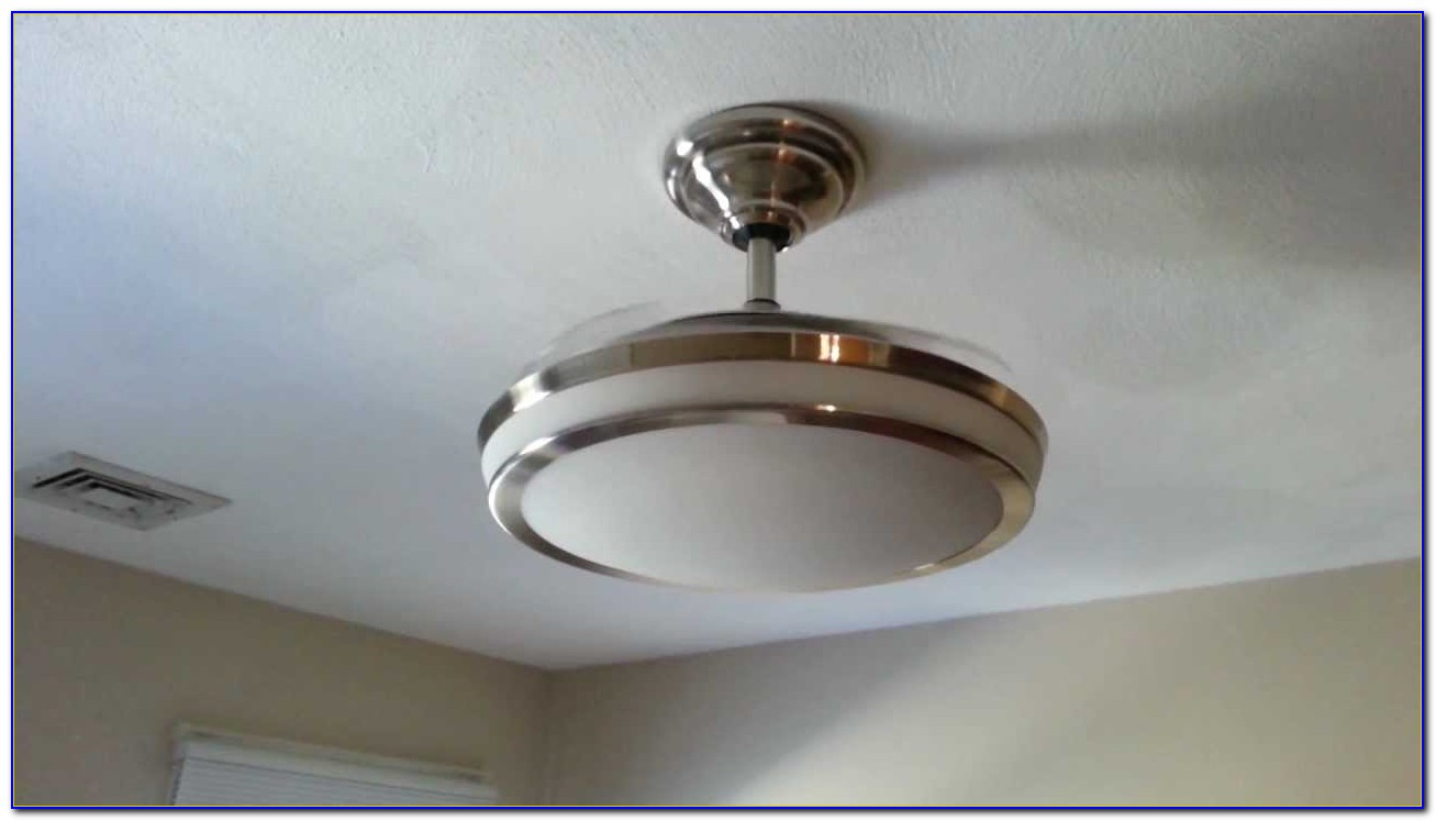 Ceiling Fan Retractable Blades