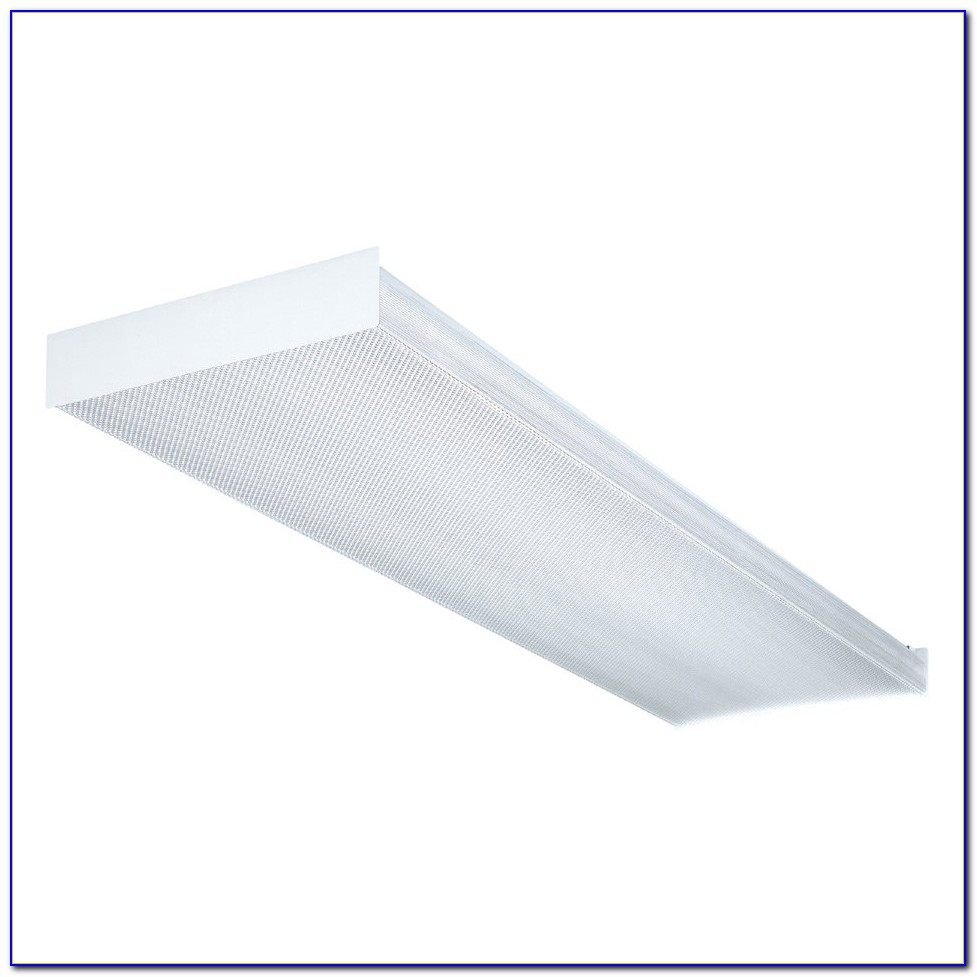 Ceiling Fluorescent Light Fixture