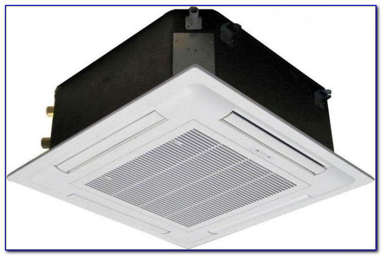 Ceiling Mount Air Handler With Hydronic Heating Coils