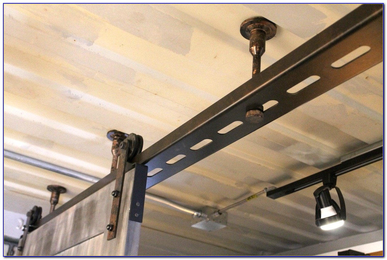 Ceiling Mount Sliding Barn Door Track