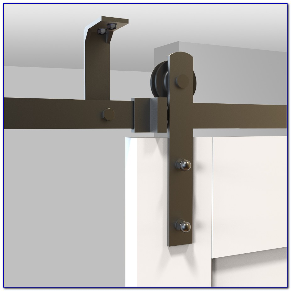 Ceiling Mounted Barn Door Track