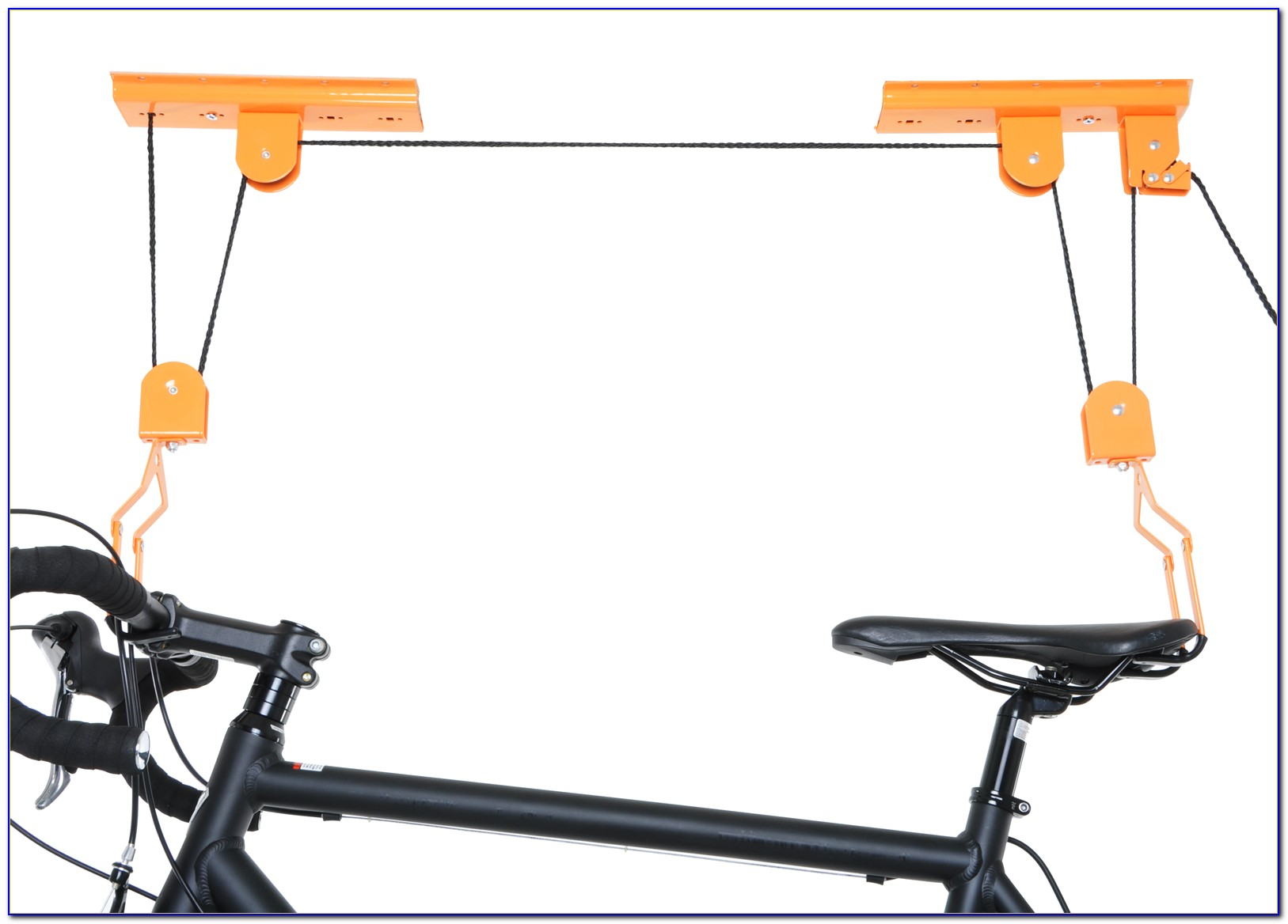 Ceiling Mounted Bicycle Lift Storage Hook