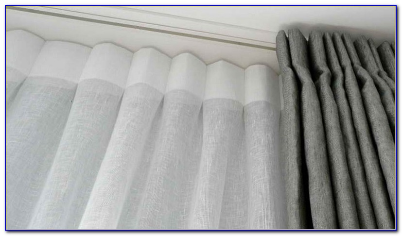Ceiling Mounted Curtain Track Kits