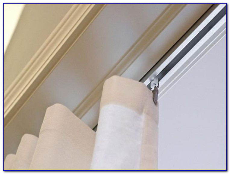 Ceiling Mounted Curtain Tracks For Bay Windows