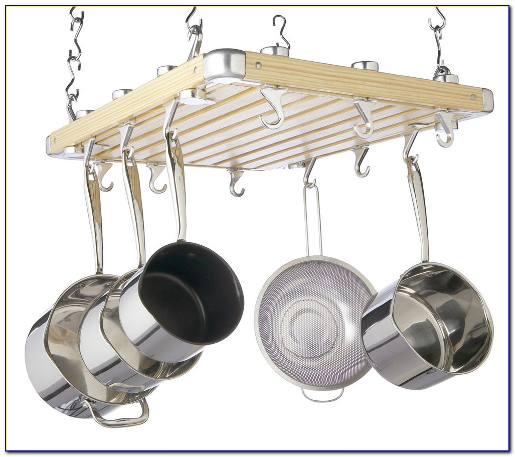 Ceiling Mounted Pot And Pan Holder