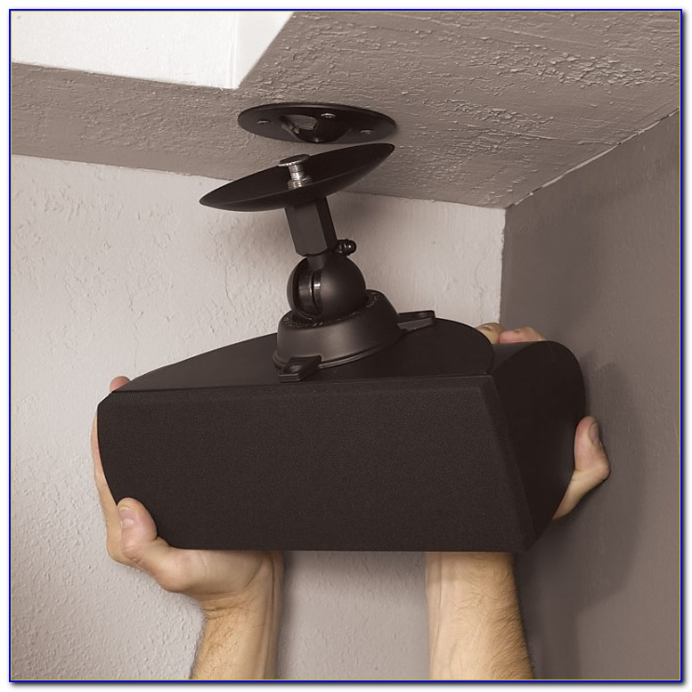 Ceiling Mounted Rear Surround Sound Speakers