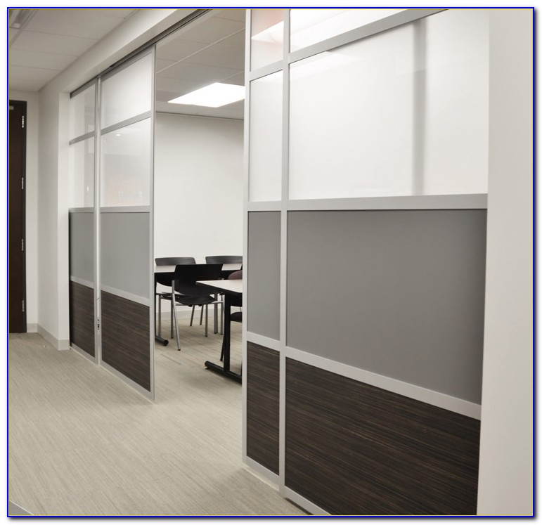 Ceiling Mounted Sliding Room Divider