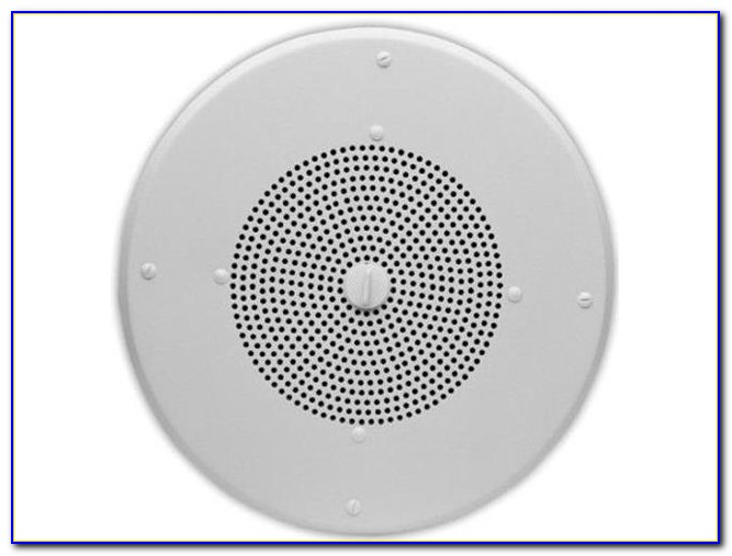 Ceiling Speaker Volume Control Installation