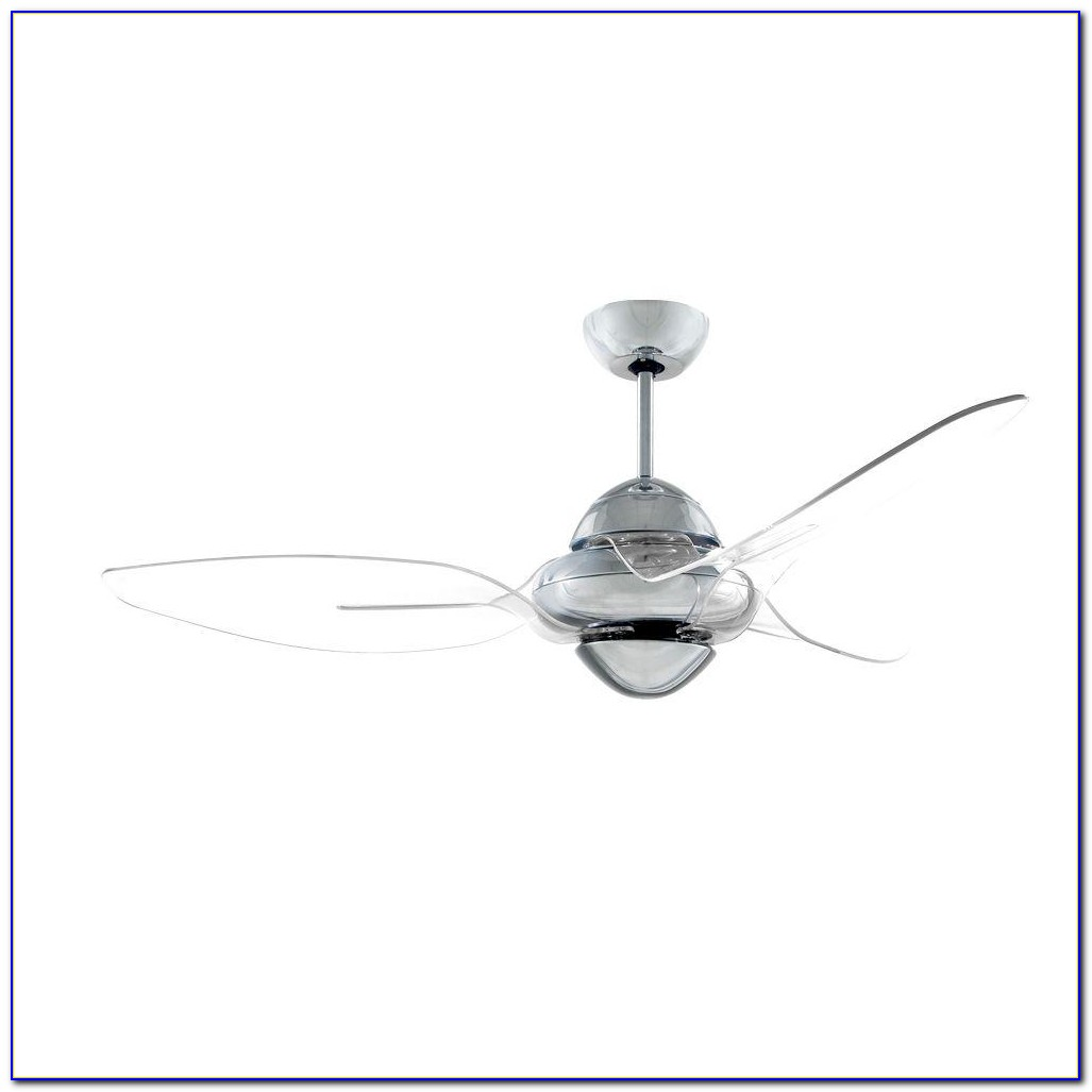 Clear Acrylic Ceiling Fan Blades