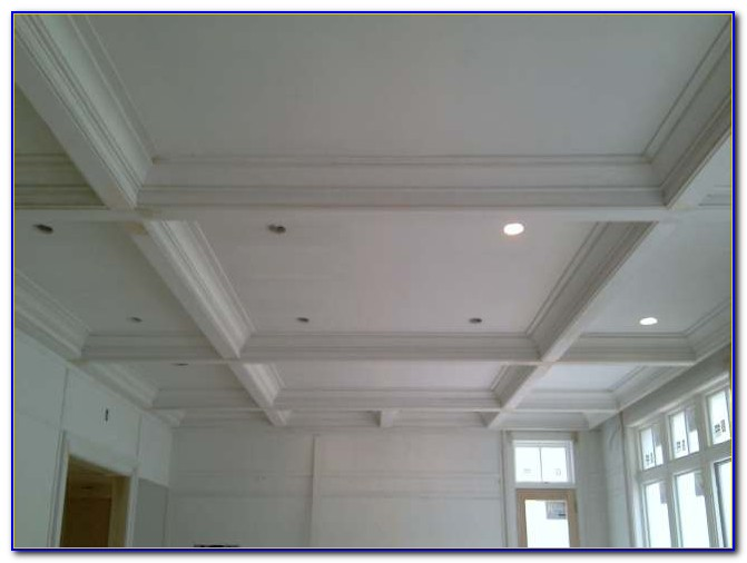 Crown Molding Around Drop Ceiling