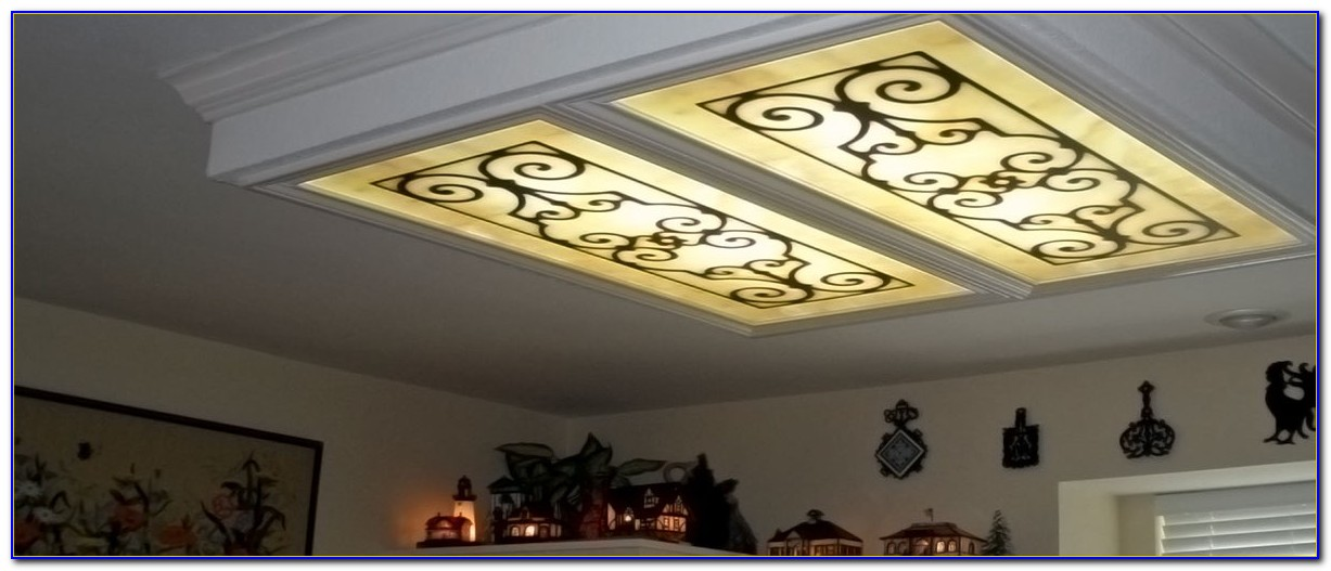 Decorative Suspended Ceiling Light Panels