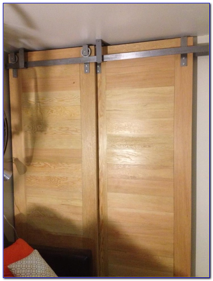 Diy Ceiling Mounted Sliding Door