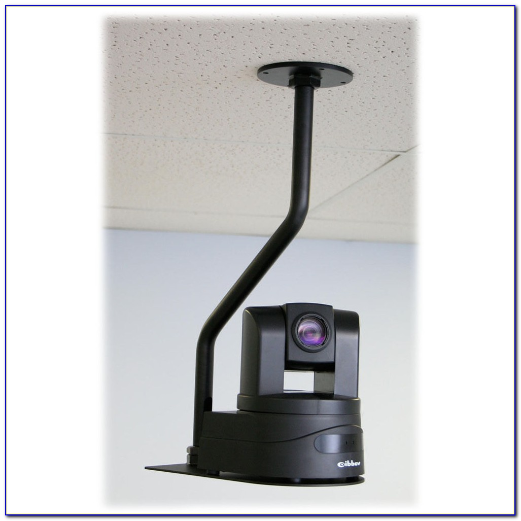 Drop Ceiling Dome Camera Mount