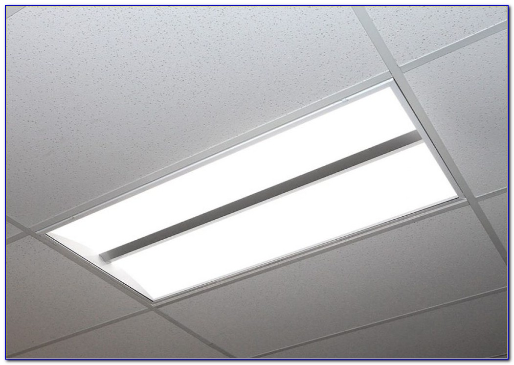 Drop Ceiling Fluorescent Light Fixtures 2x4