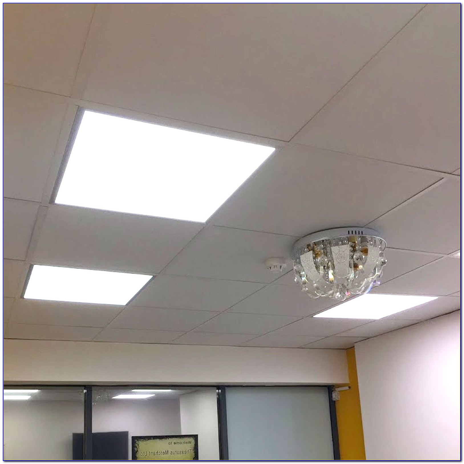 Drop Ceiling Light Panel Frame