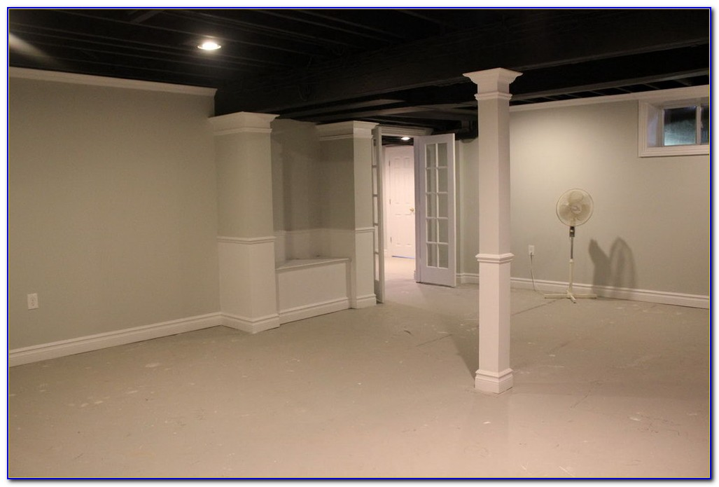 Drop Ceiling Pictures In Basement
