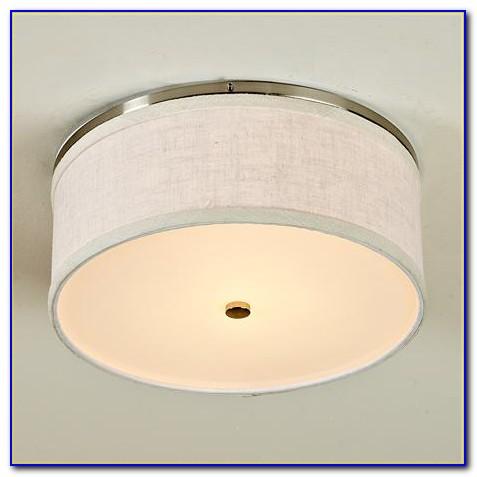 Drum Flush Mount Ceiling Light