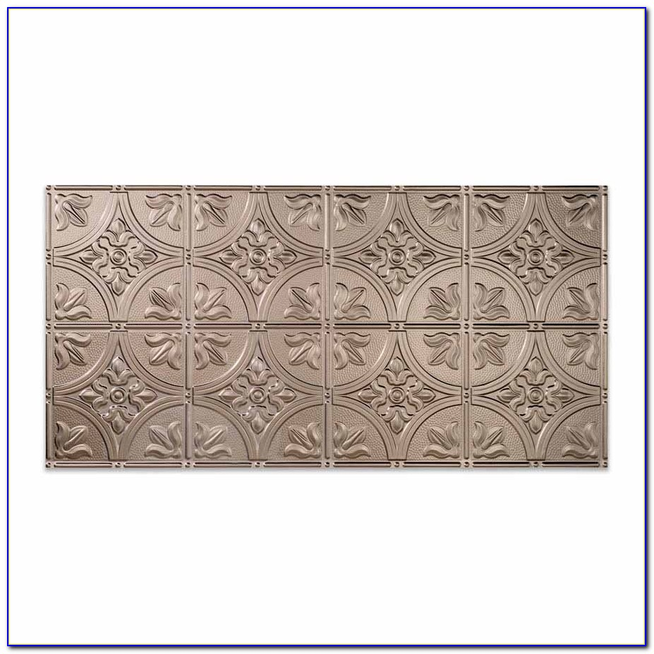 Faux Tin Ceiling Tiles 2x4