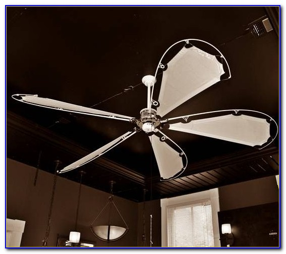Fishing Pole Ceiling Fan