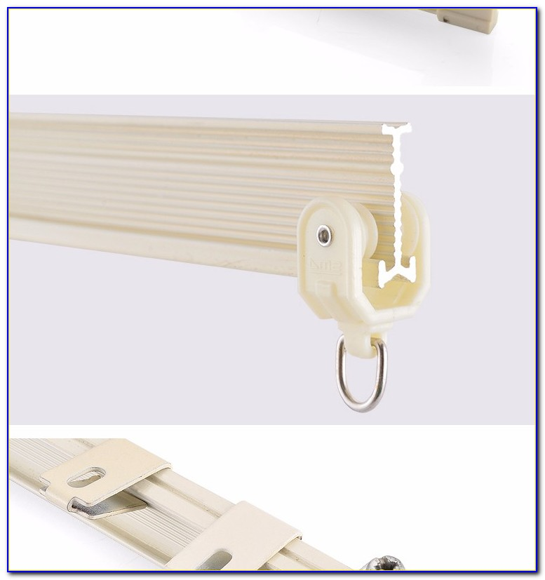 Flexible Ceiling Mounted Curtain Track