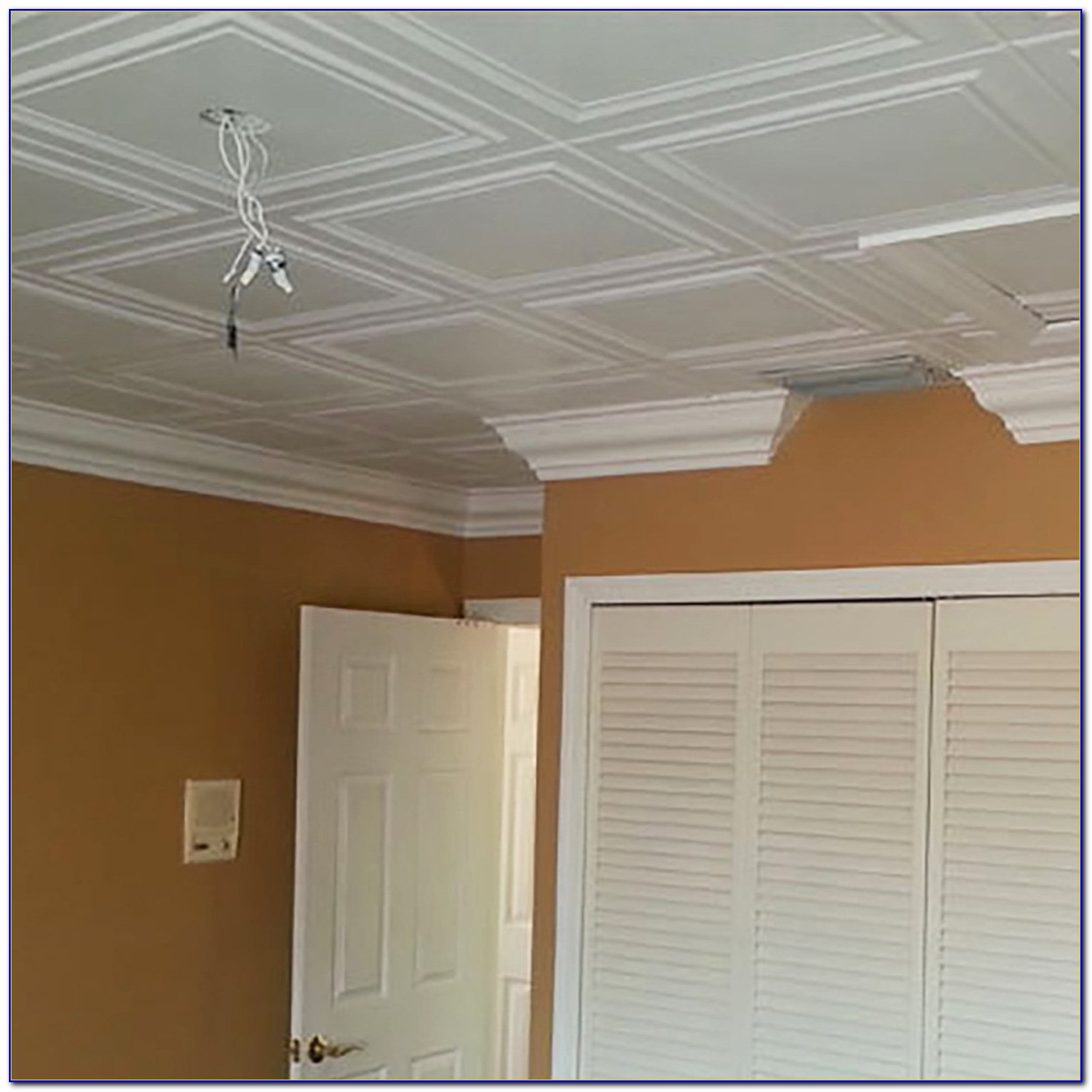 Flush Clip Mount Ceiling Tiles