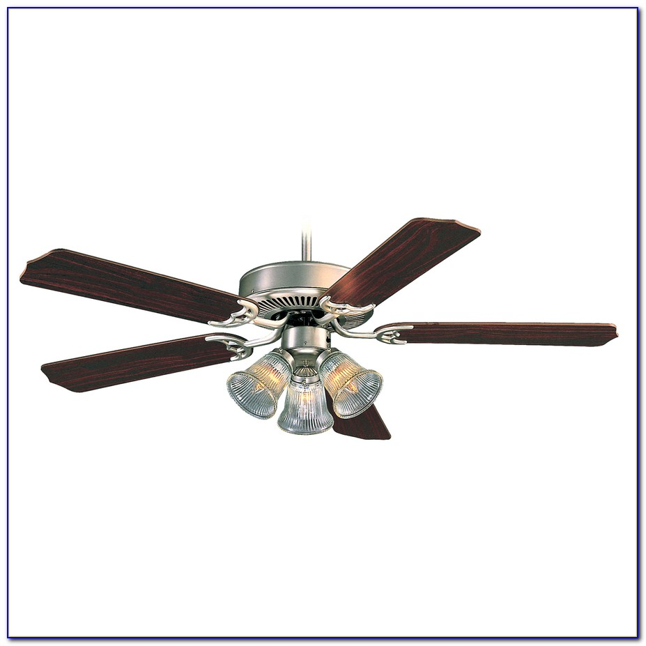 Flush Mount Ceiling Fan With Light And Remote