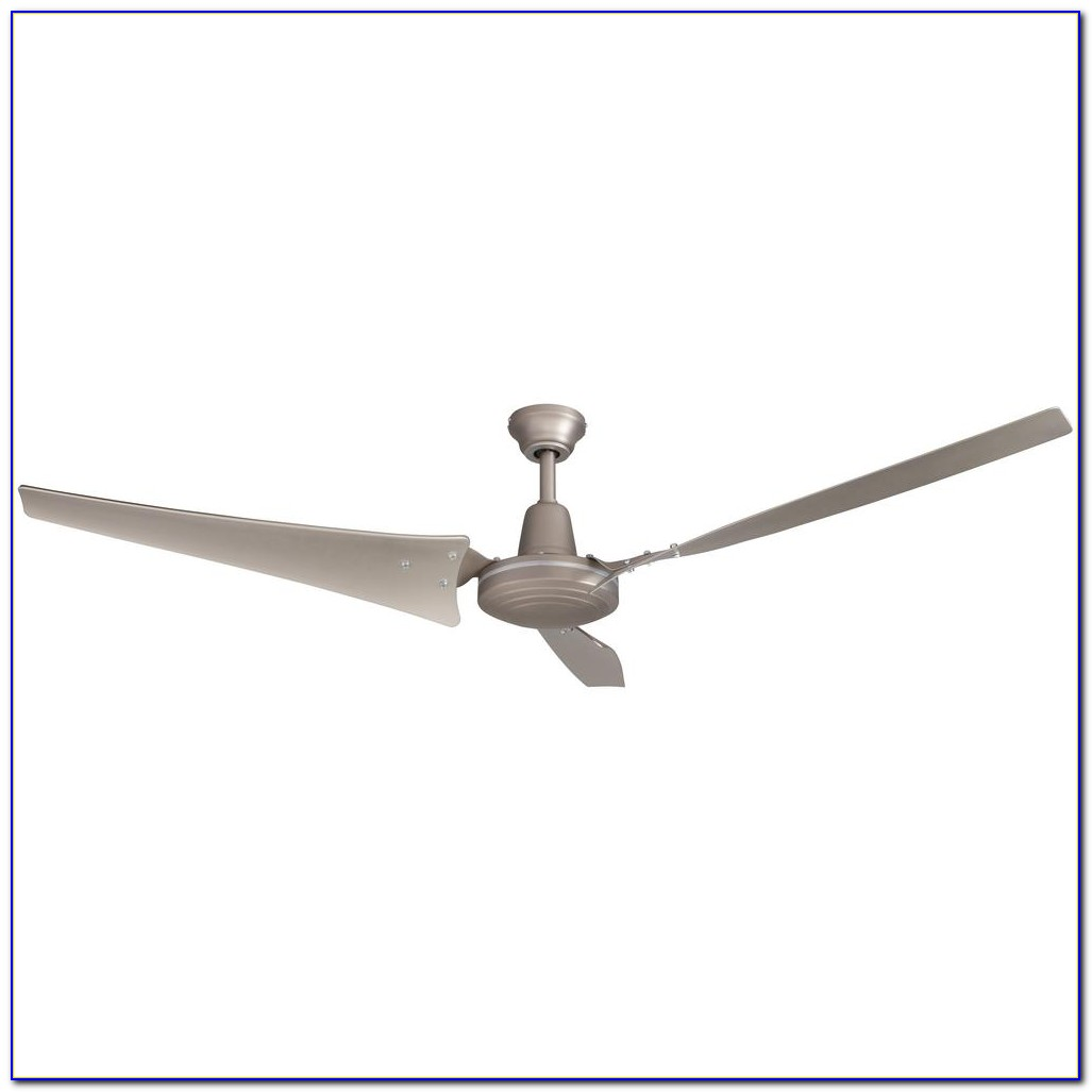 Hampton Bay 60 Industrial Ceiling Fan White