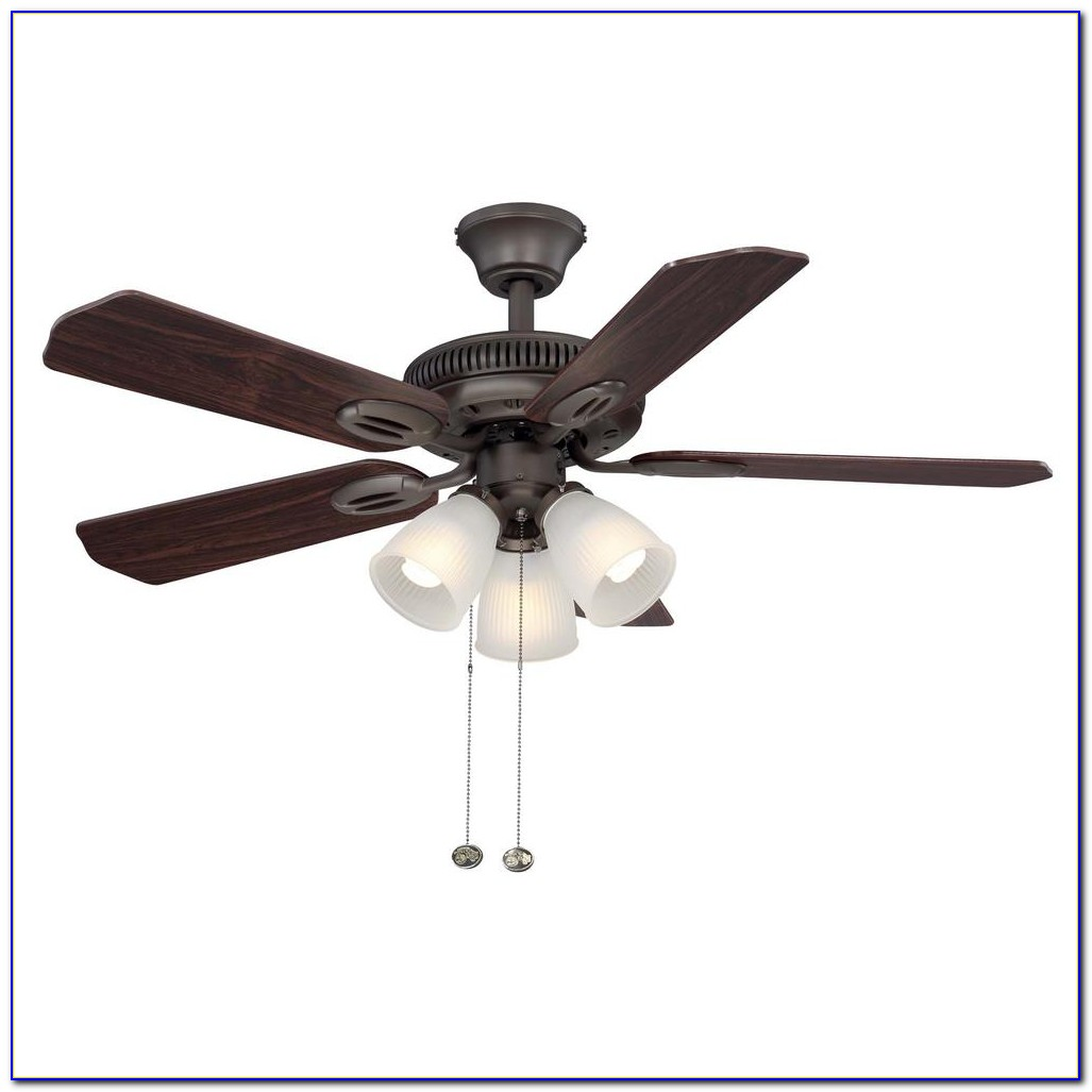 Hampton Bay Bentley Ii Tarnished Bronze Ceiling Fan