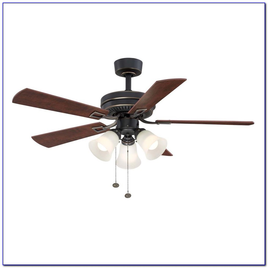 Hampton Bay Bronze Ceiling Fan Audio Light Kit With Bluetooth Technology