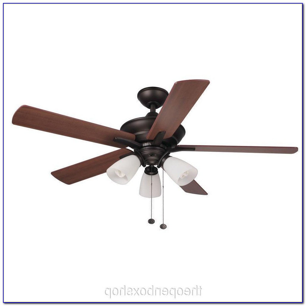 Hampton Bay Bronze Ceiling Fan Light Kit