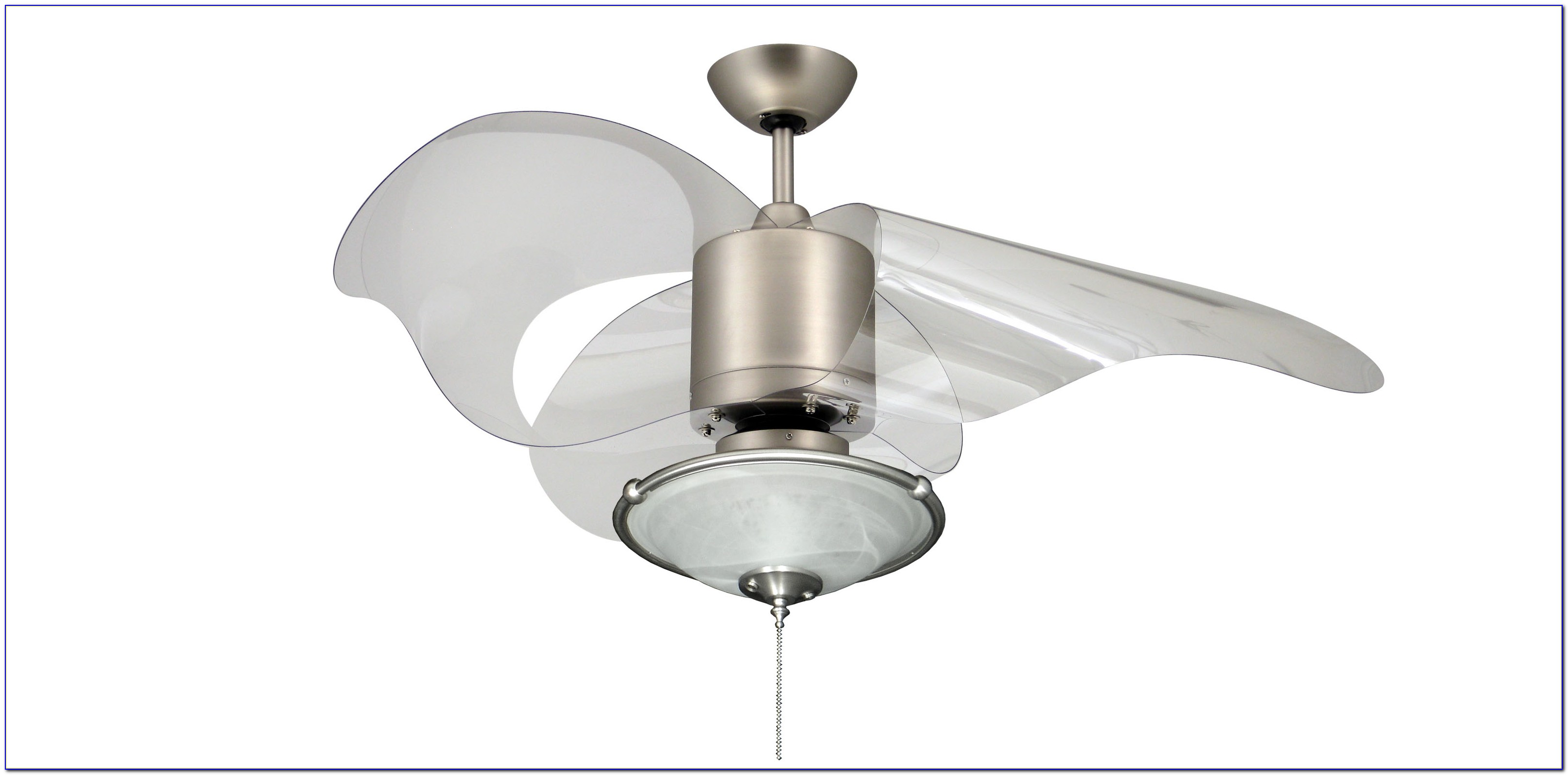 Hampton Bay Ceiling Fan Clear Blades