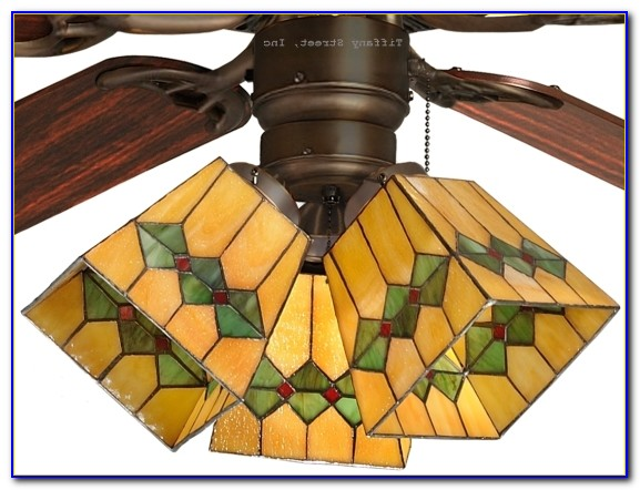 Hampton Bay Ceiling Fan Stained Glass