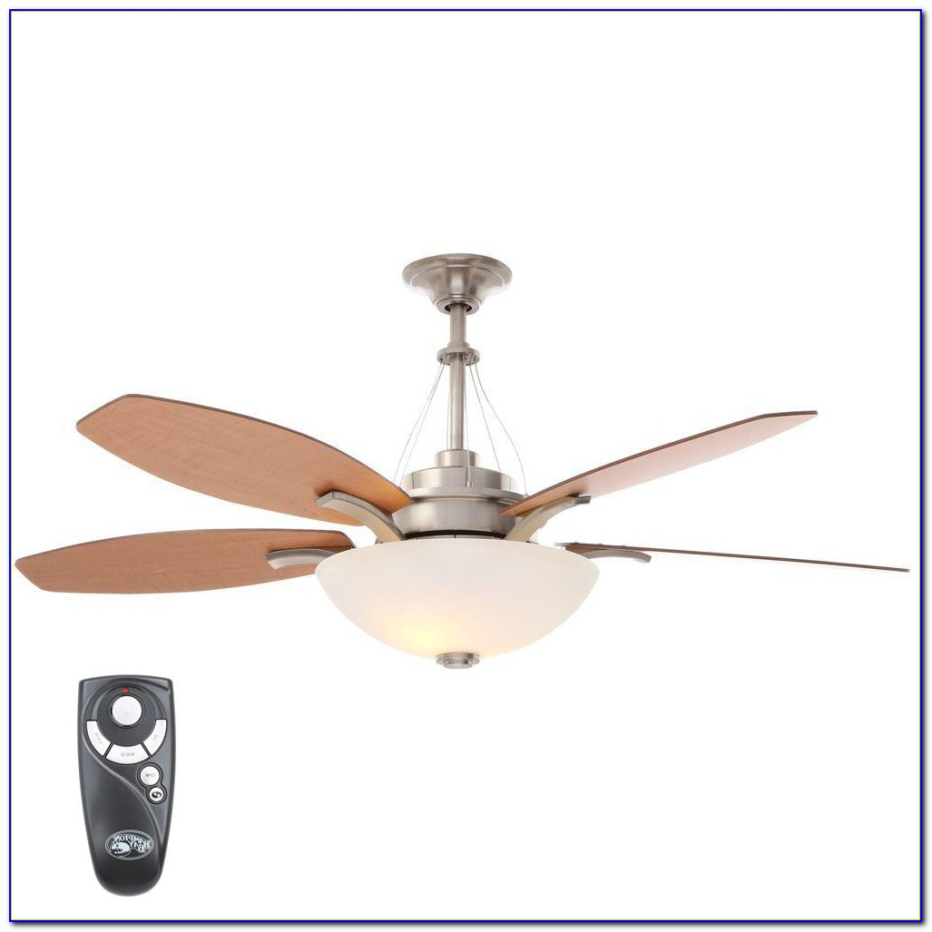 Hampton Bay Ceiling Fan With Light Wiring