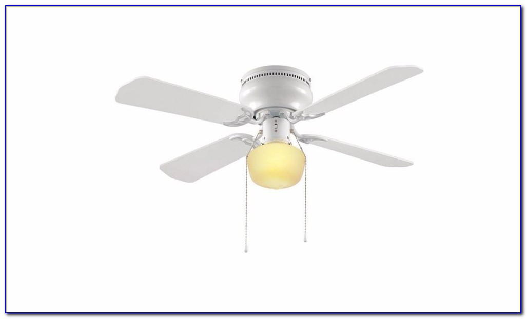 Hampton Bay Flush Mount Ceiling Fans With Lights