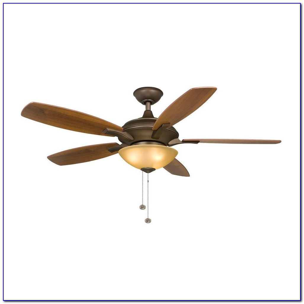 Hampton Bay Glendale 52 In Bronze Ceiling Fan