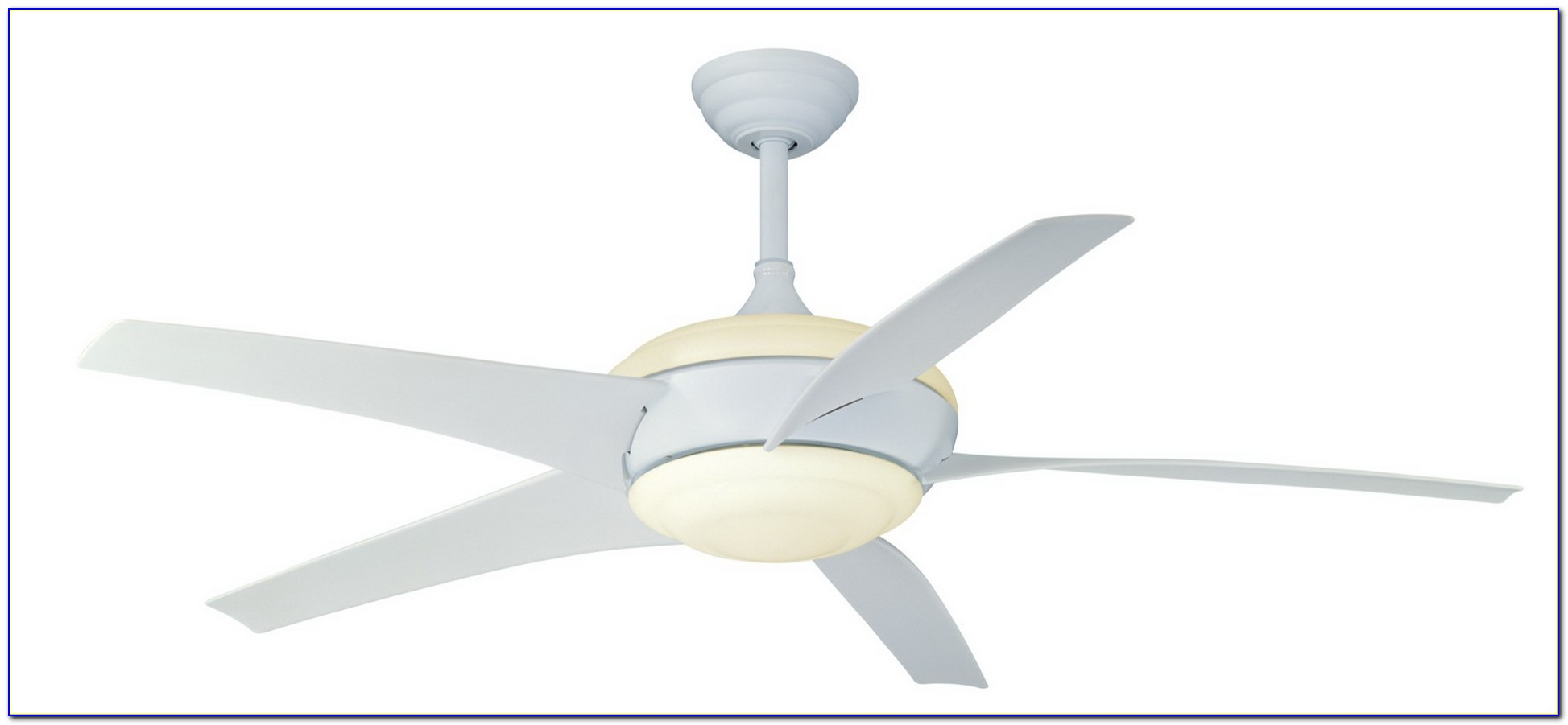 Hampton Bay Midili White Ceiling Fan