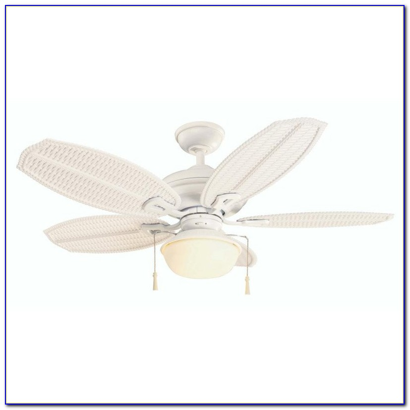 Hampton Bay Palm Beach Ceiling Fan White