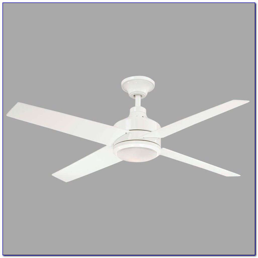 Hampton Bay Roanoke White Ceiling Fan