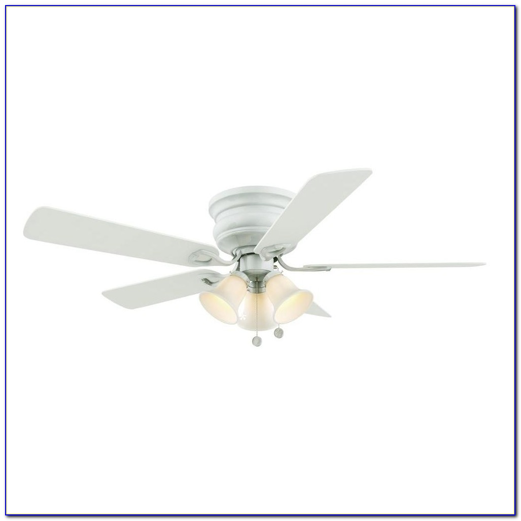 Hampton Bay White Industrial Ceiling Fan 60 Inch