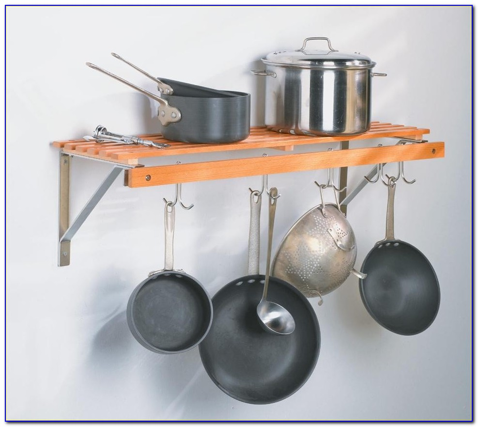 Hang Pots And Pans From Ceiling