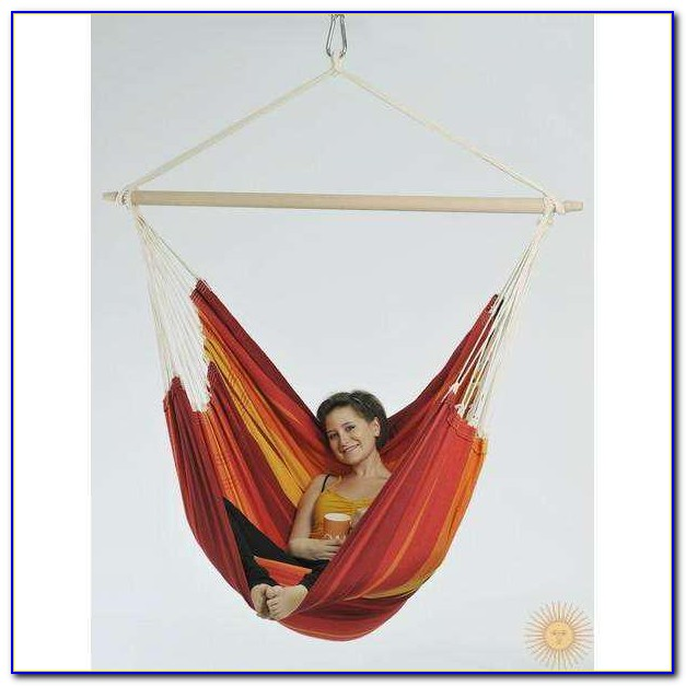 Hanging Hammock From Concrete Ceiling