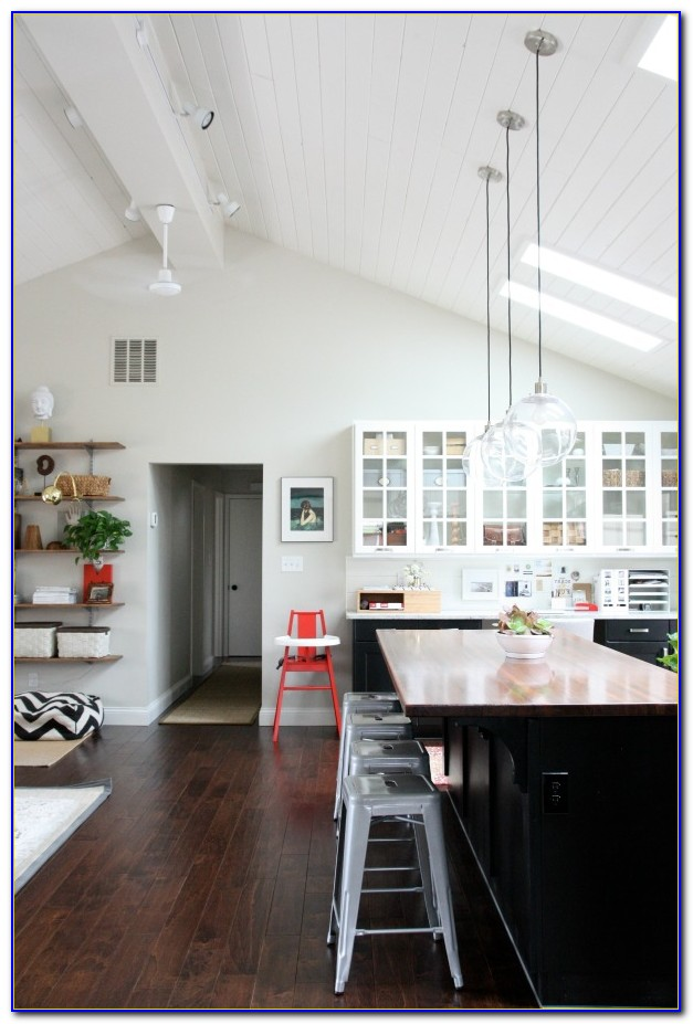 Hanging Pendant Lights For Sloped Ceiling