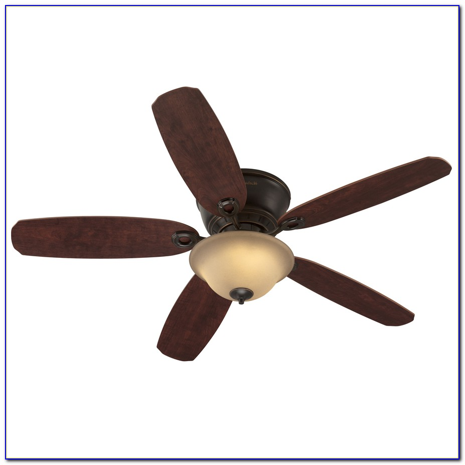 Harbor Breeze Armitage 52 In White Flush Mount Ceiling Fan