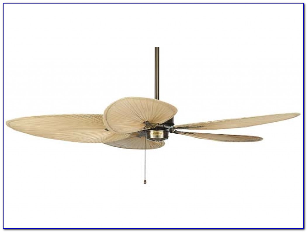 Harbor Breeze Ceiling Fan With Palm Leaf Blades