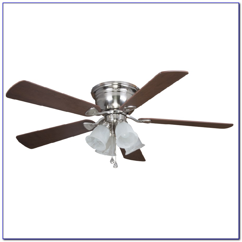 Harbor Breeze Flush Mount Enclosed Ceiling Fan