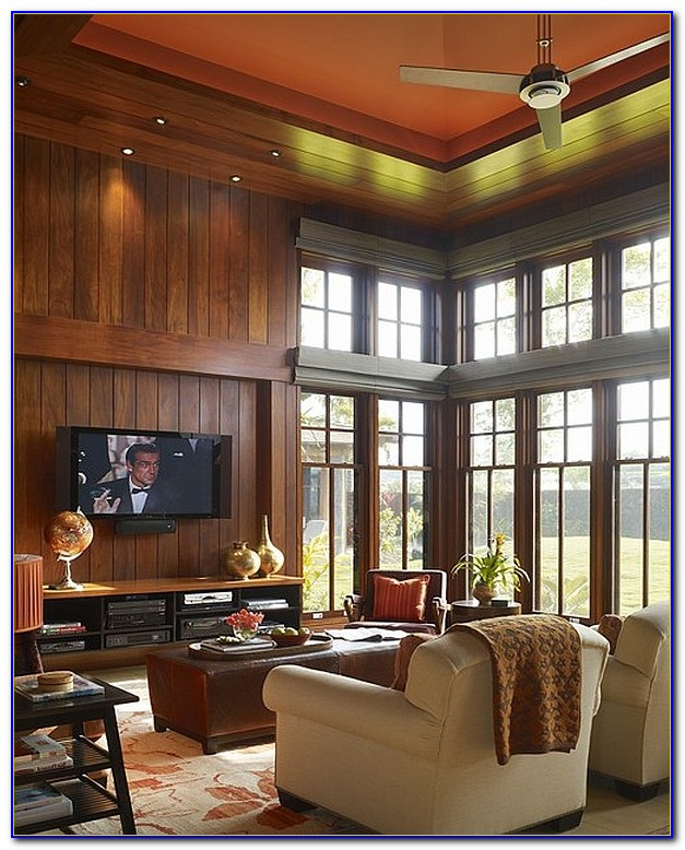 High Ceiling Family Room Decorating Ideas