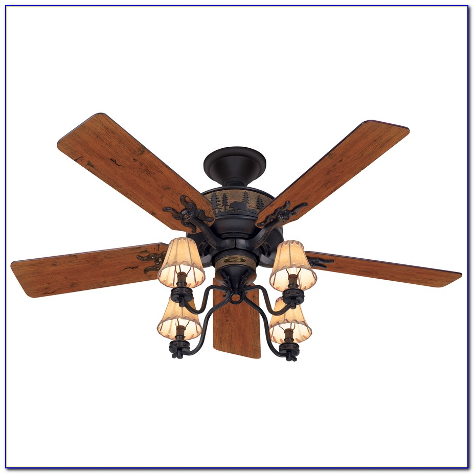 Hunter 54 Bronze Ceiling Fan With Light